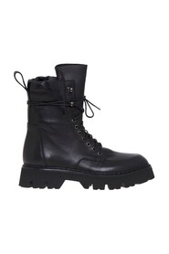 Anfibio boots in pelle