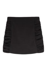 Heavy Crepe Mini Skirt