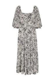 Midi Dress Artemis Paisley Print Kjole