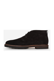 Polacco suede leather ankle boots
