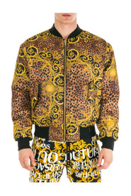 men's outerwear jacket blouson  reversibile Leo Baroque