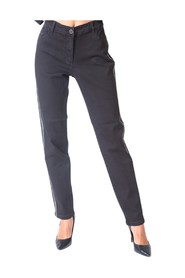 Trousers With Paired Side Band - P403F015AJ33