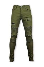 Biker skinny jeans men 3017-9