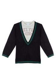 Trompe De Deep V Knit Sweater