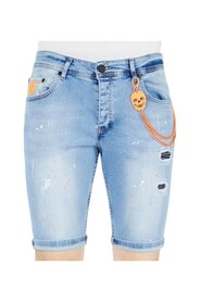 Heren Denim Korte Jeans Slim fit  - 1048
