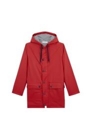 Iconic hooded raincoat