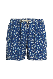 SPACE TIME RECYCLED SWIM SHORTS