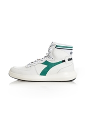 MI BASKET H LEATHER SNEAKERS