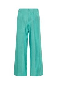 Wide-leg trousers pleated