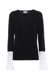 Georgette cuff sweater