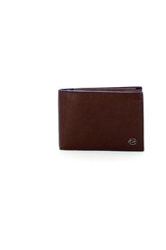 Wallet with Blue Square coin purse