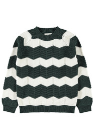 KIDS NKFNINITA LS KNIT Gables