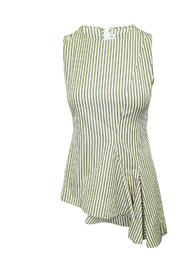 Striped Asymmetric Top -Pre Owned Condition Very Good