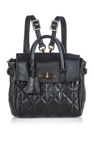 Quilted Cara Delevigne Backpack