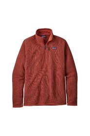 Rustrød Patagonia M Better Sweater 1/4 Zip Strikk