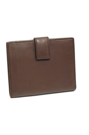 Gancini Leather Small Wallet