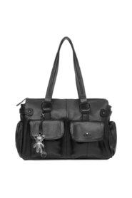 Mia Leather Baby Tote Bag