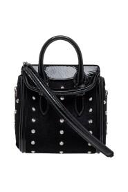 Patent Leather Mini Studded Heroine Bag