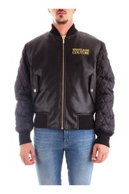 VERSACE JEANS C1GUA9P304673 Coat Men BLACK