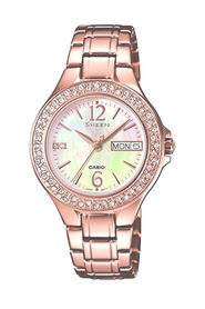 Casio Sheen Dame Uhr SHE-4800PG-9AUER
