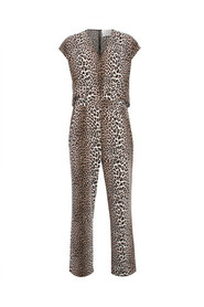 Leopard Notes Du Nord Kate Jumpsuit Jumpsuit