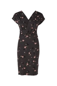 Sort Saint Tropez Terazzo Dress Kjole