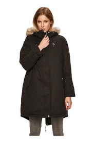 CALVIN KLEIN K20K201191 PEACHED PARKA JACKET AND JACKETS Women BLACK
