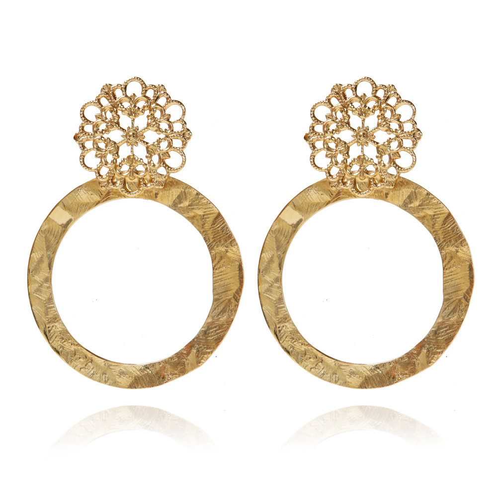 Andriana earrings gold - Caroline Svedbom