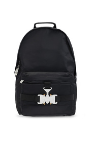 Backpack with buckles