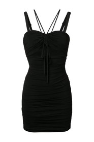 Ruched Cut-out Dress