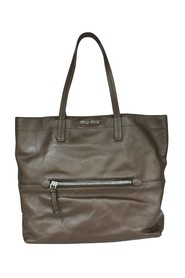 Soft Leather Tote -Pre Owned Condition Very Good