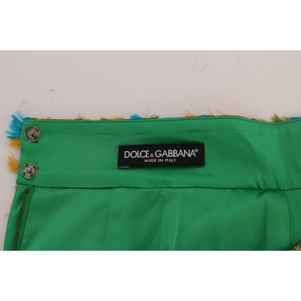 Green Jacquard Straight Pencil Skirt|Dolce  Gabbana|Faldas| Ropa de mujer yFh7o