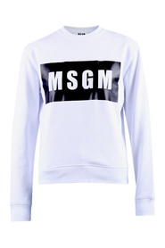 Logo print cotton sweatshirt