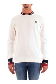 FRED PERRY M6520 JERSEY Men WHITE