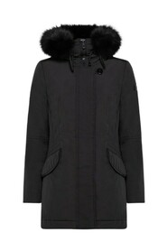 Marr Smooth Down Jacket With High Collar Marr MX 01 Fur