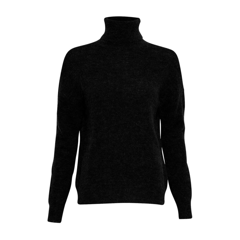 BLACK roll neck sweater  Moncler  Overdeler - Dameklær er billig
