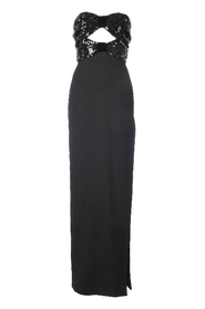 EVENING PAILLETTES LONG DRESS