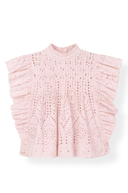 Broderie Anglaise Topp
