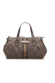 Macadam  Handbag Fabric Canvas