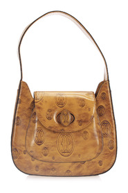 Happy Birthday Patent Leather Shoulder Bag