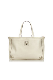 Leather Abbey D-Ring Tote
