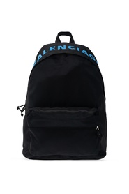 Wheel backpack with logo