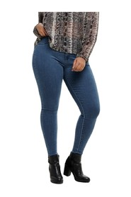 Skinny fit jeans Curvy storm push up hw