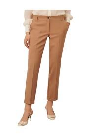 Pantalone a sigaretta in tessuto stretch