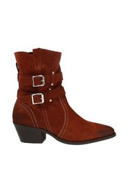 Harriet heeled ankle boots