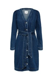 Denim Dress Belted