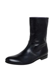 Brukt Chelsea ankelstøvler i skinn størrelse 41.5