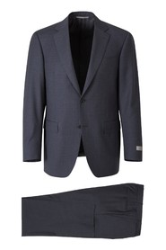 Micro Check Design Suit