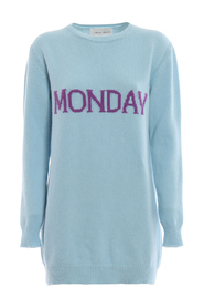 Monday long crewneck