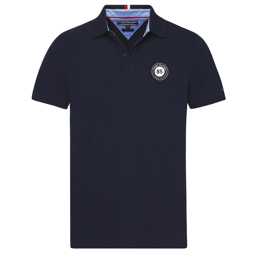 TOMMY HILFIGER BADGE POLO
